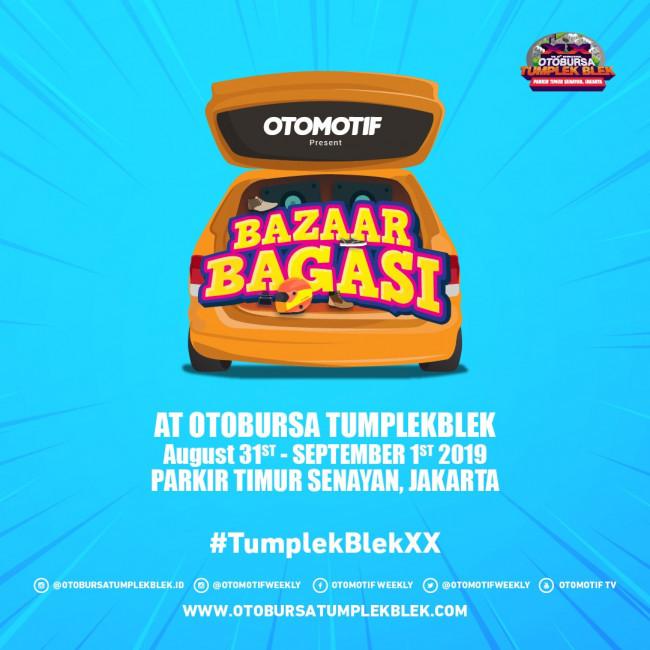 Bazar Bagasi Warnai Otobursa Tumplek Blek ke-20