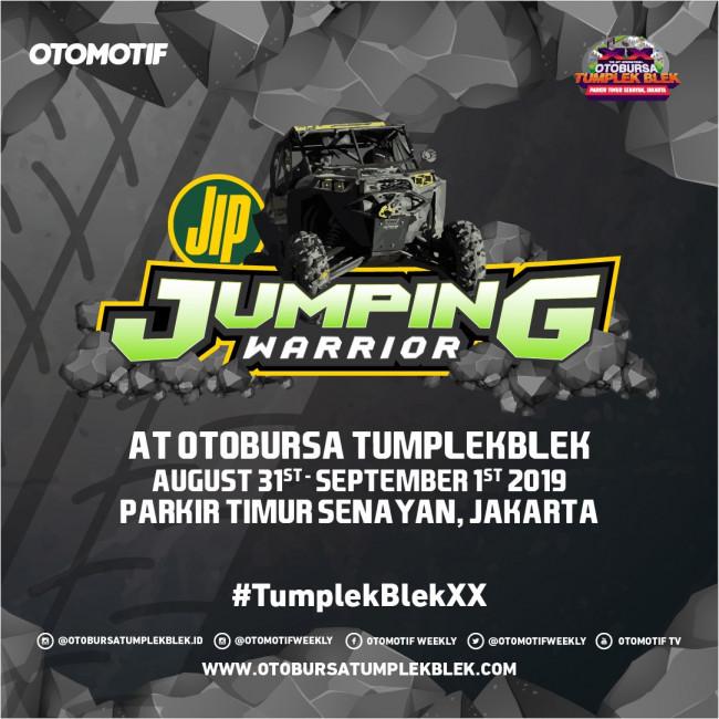 Jumping Warrior Kembali Hadir di OTOBURSA Tumplek Blek 2019